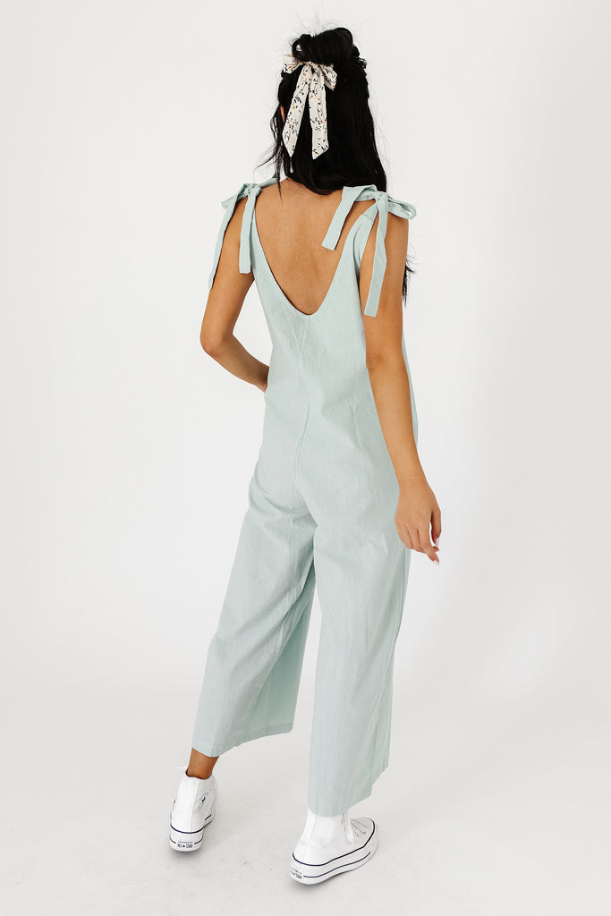 waverly jumpsuit // sage