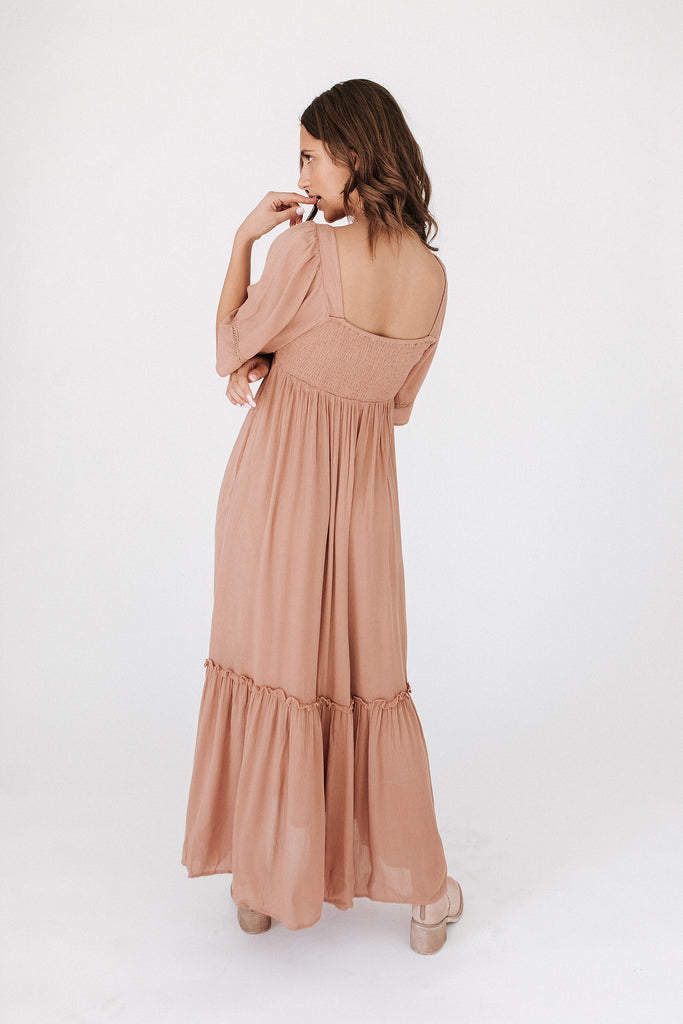 born for this maxi dress