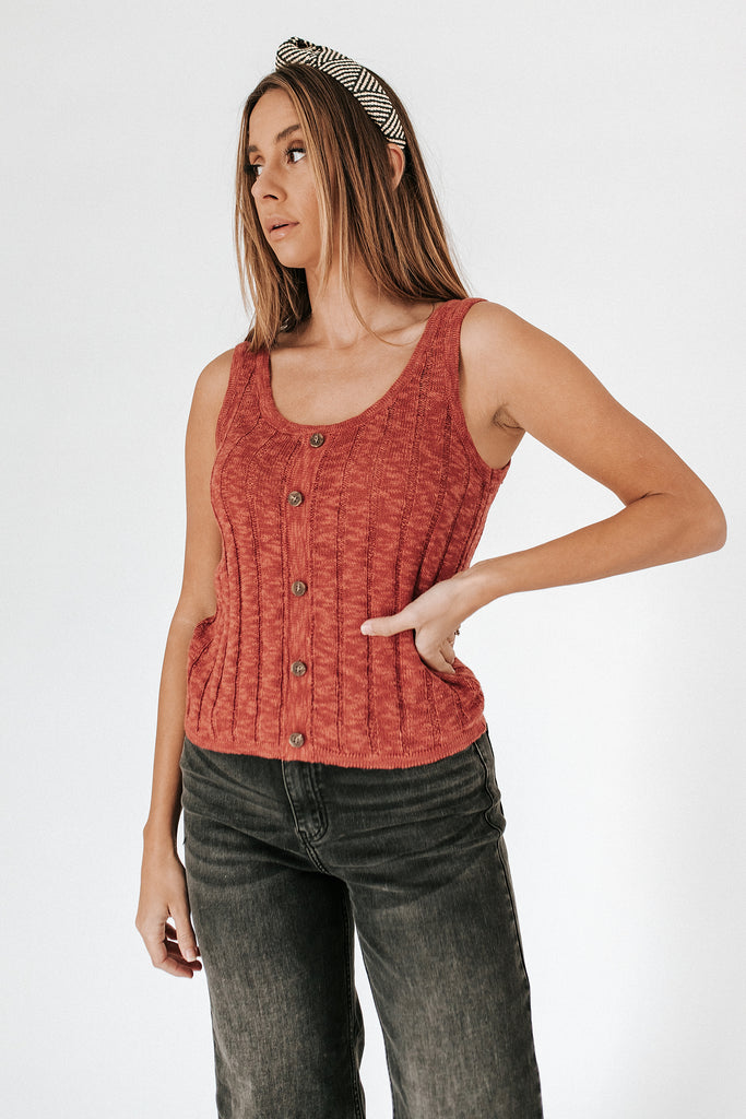 real quick knit tank