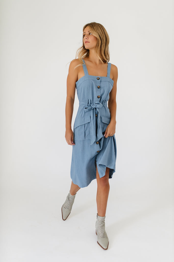 rory chambray dress