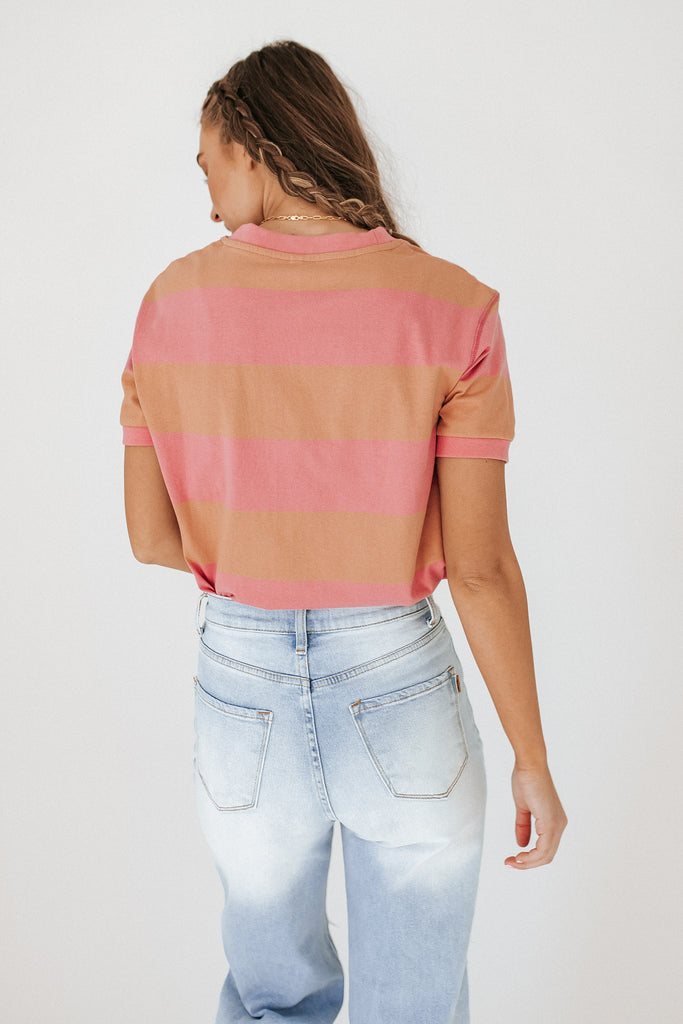 dion striped top