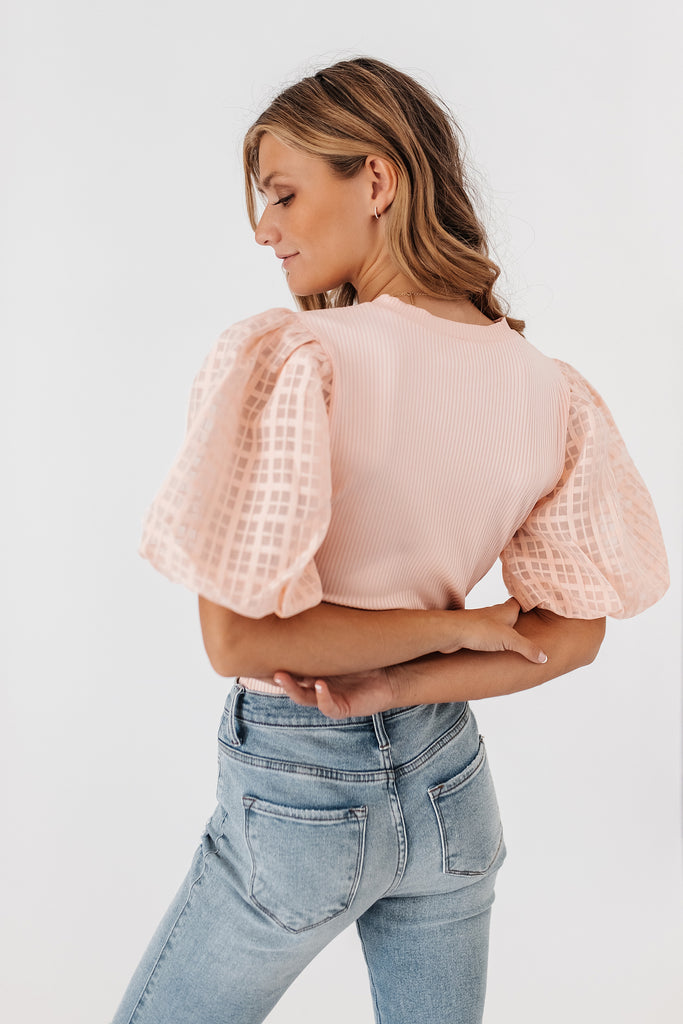 jojo puff sleeve top