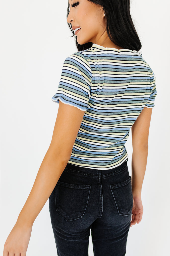 promise striped top