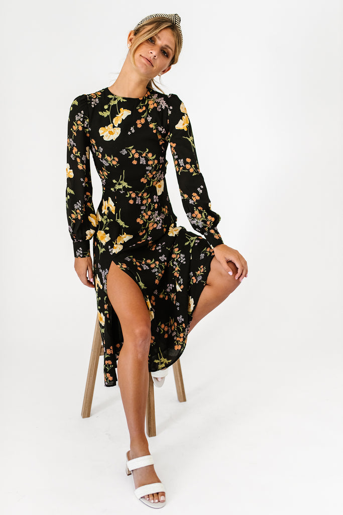 sweet escape floral dress