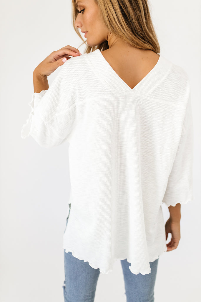 folk top // white *restocked*