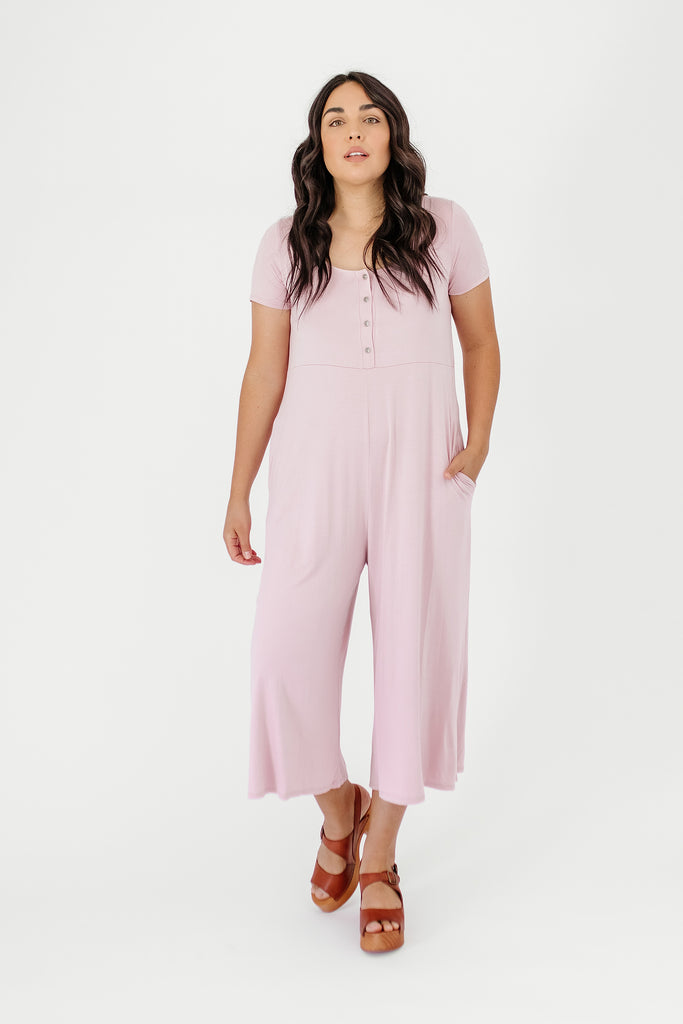 dawson jumpsuit // blush