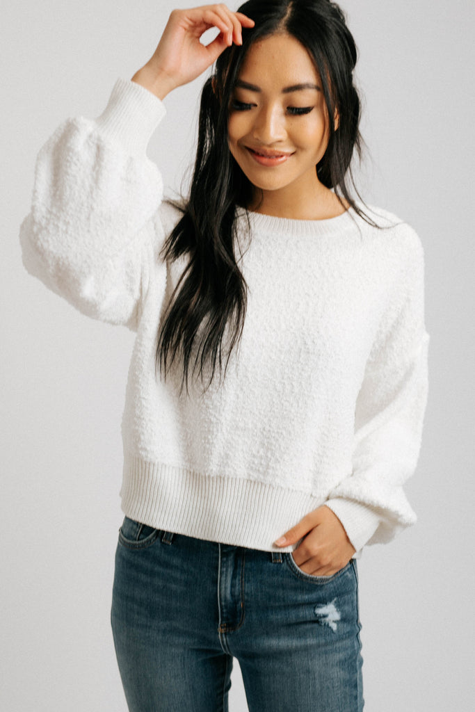 rise + shine sweater