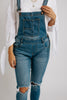 vara distressed overalls