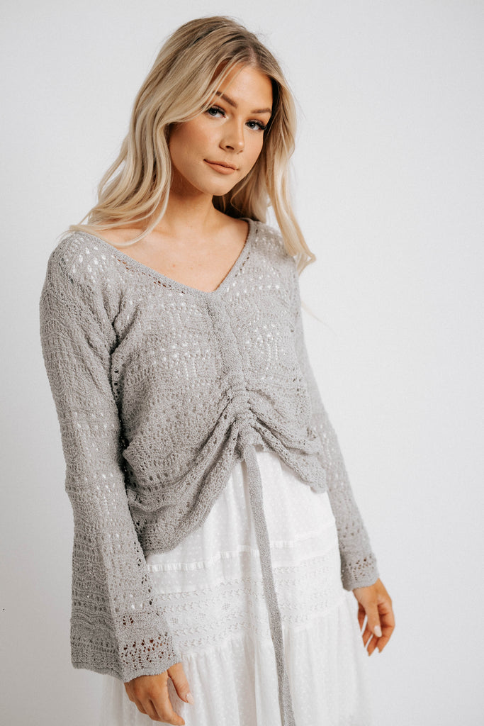 crochet for days sweater // ice