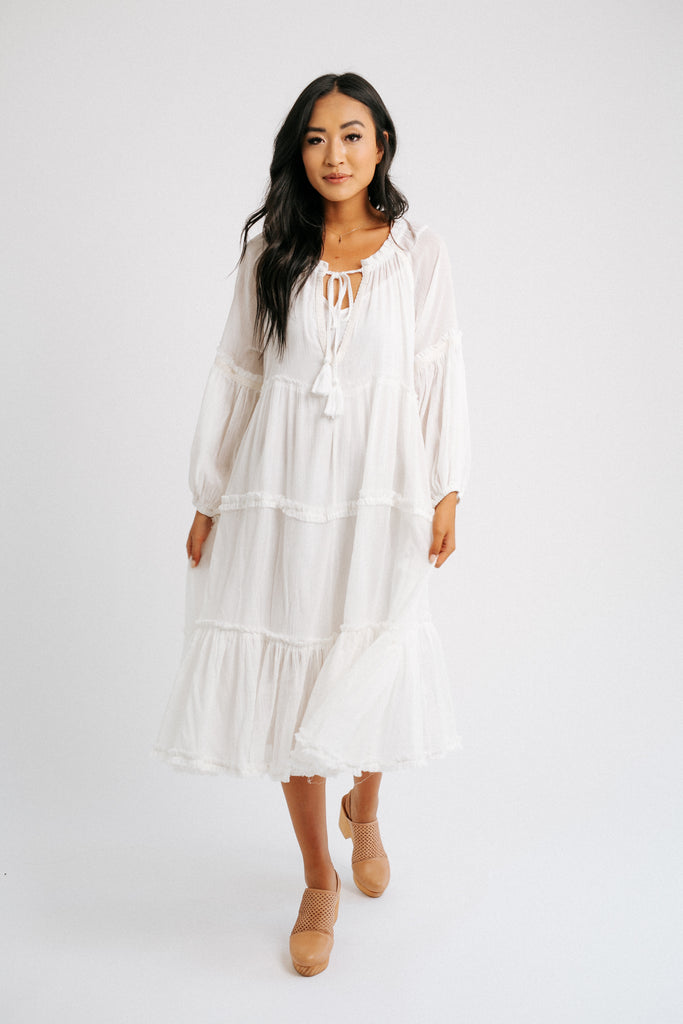 shan dress // white *restocked*