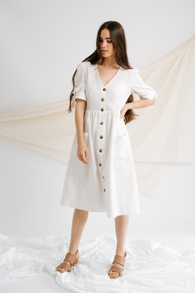 jackson button down dress