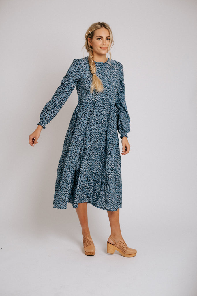 lani dress // blue