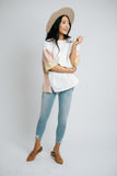 aria color block top