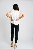 shar wing sleeve top