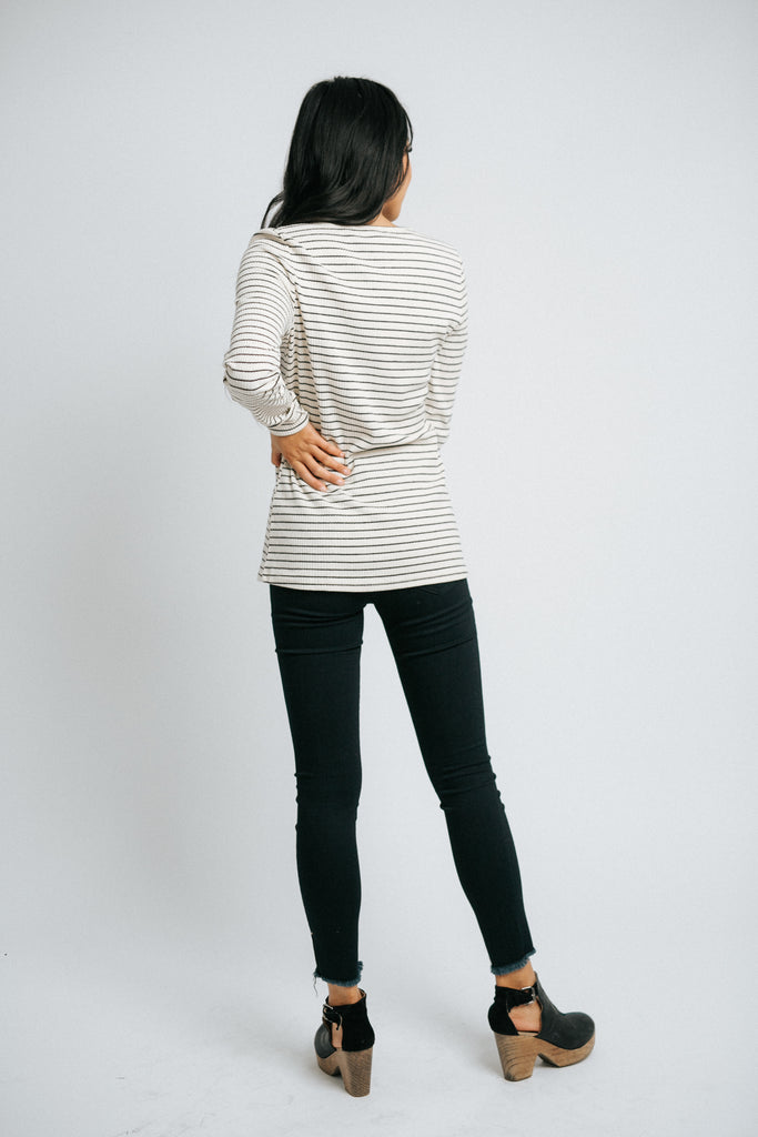 claude ribbed henley