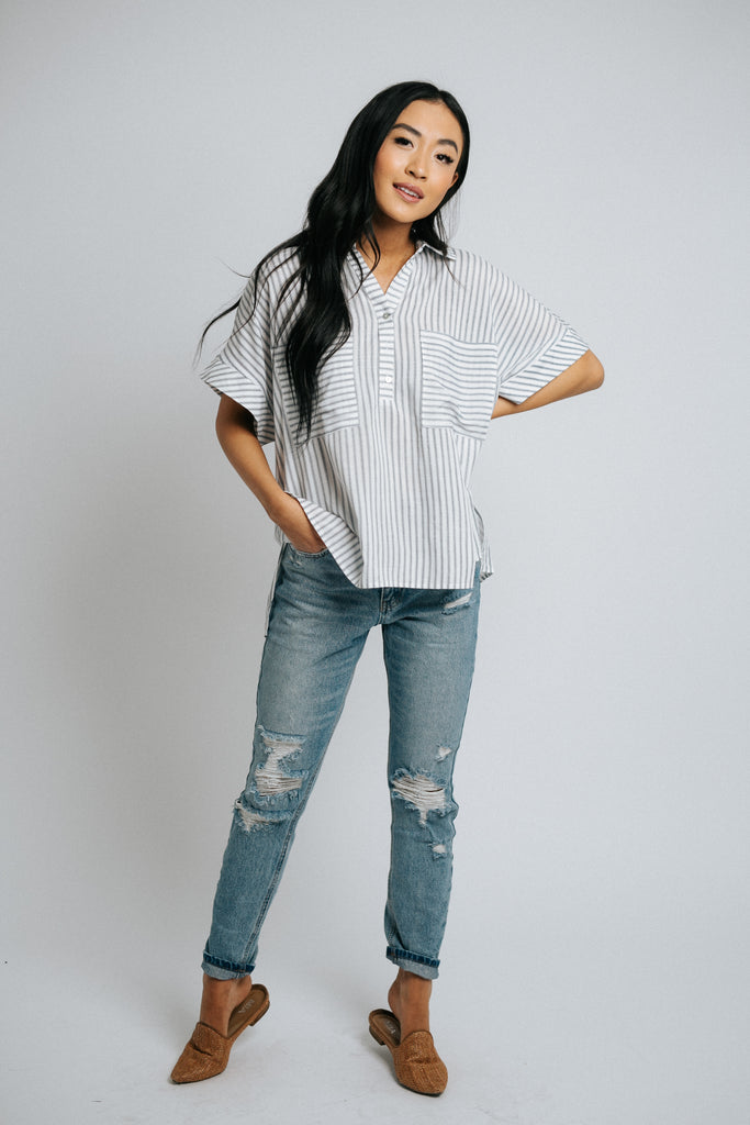 eloise button down