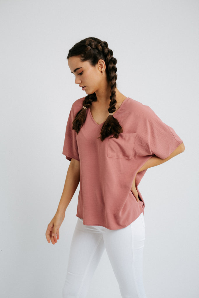 gigi pocket top