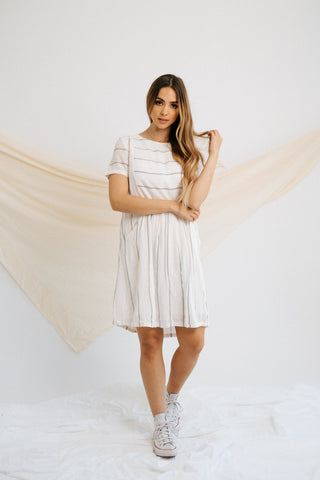 cece striped dress