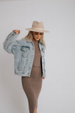 penelope jacket // light denim