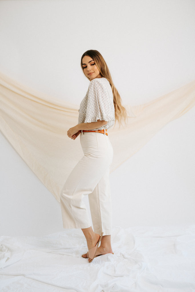 gemma pant in canvas
