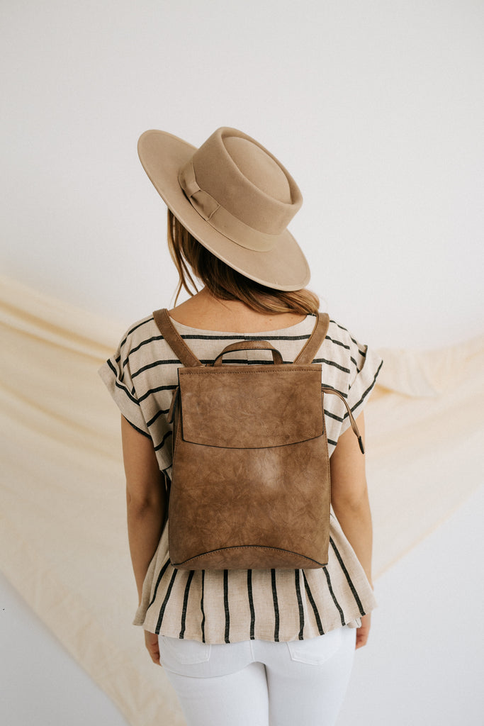 kendall backpack in stone