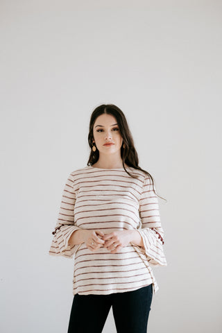 crosby striped top