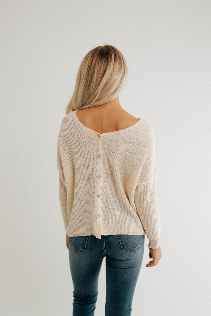 cream dream sweater *restocked*