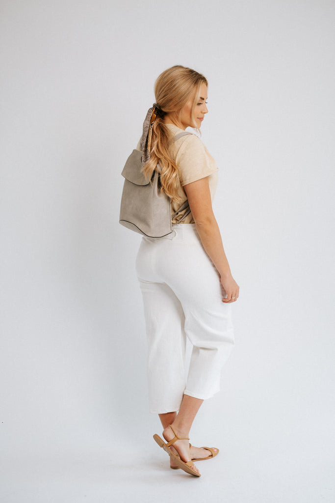 kendall backpack in grey *restocked*