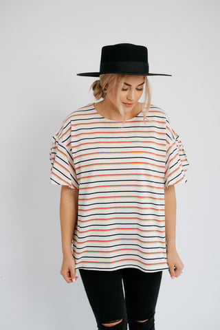 julia stripe top