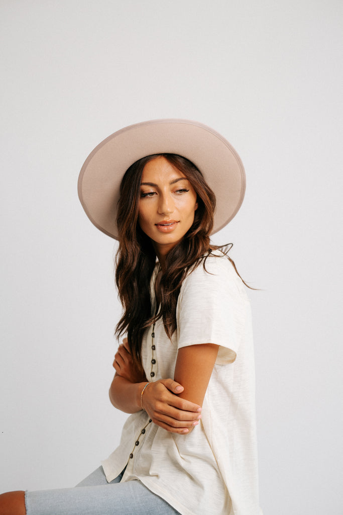 monet hat // blush *restocked*