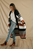 rennee knit long cardigan