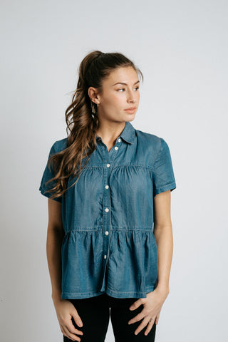 francis button down