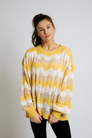 hazel fringe sweater