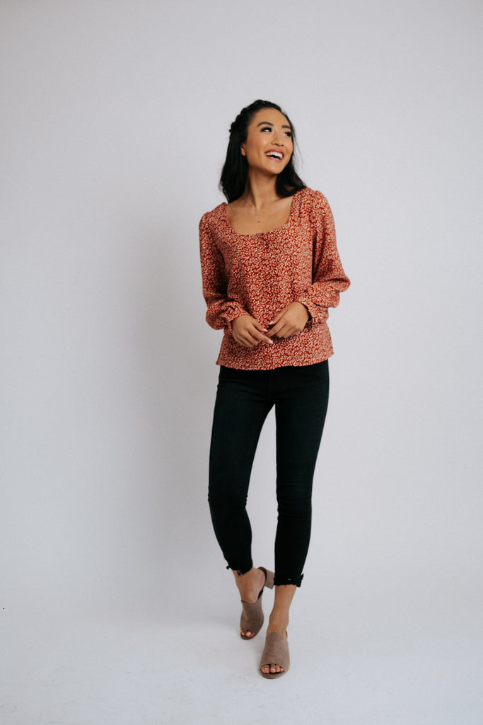 crimson + clover top