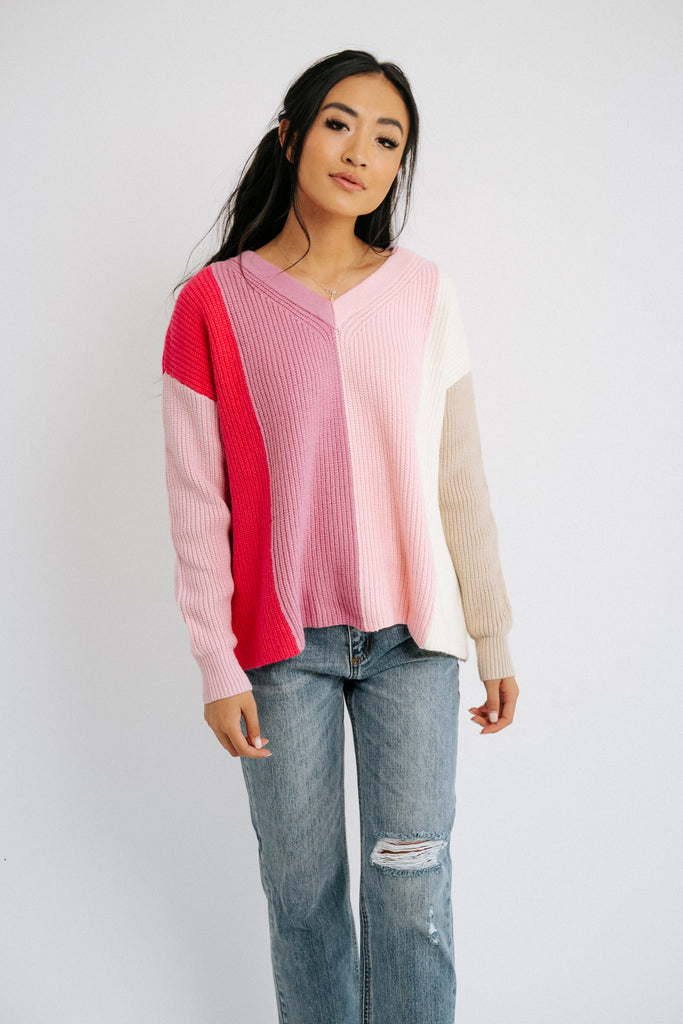 think pink sweater *restocked*