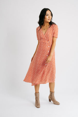 bonnie swiss dot dress