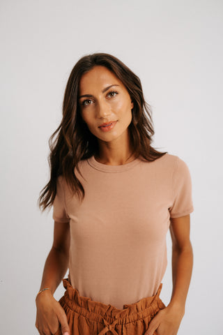 sheena tie neck top