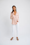 pretty in pink button down