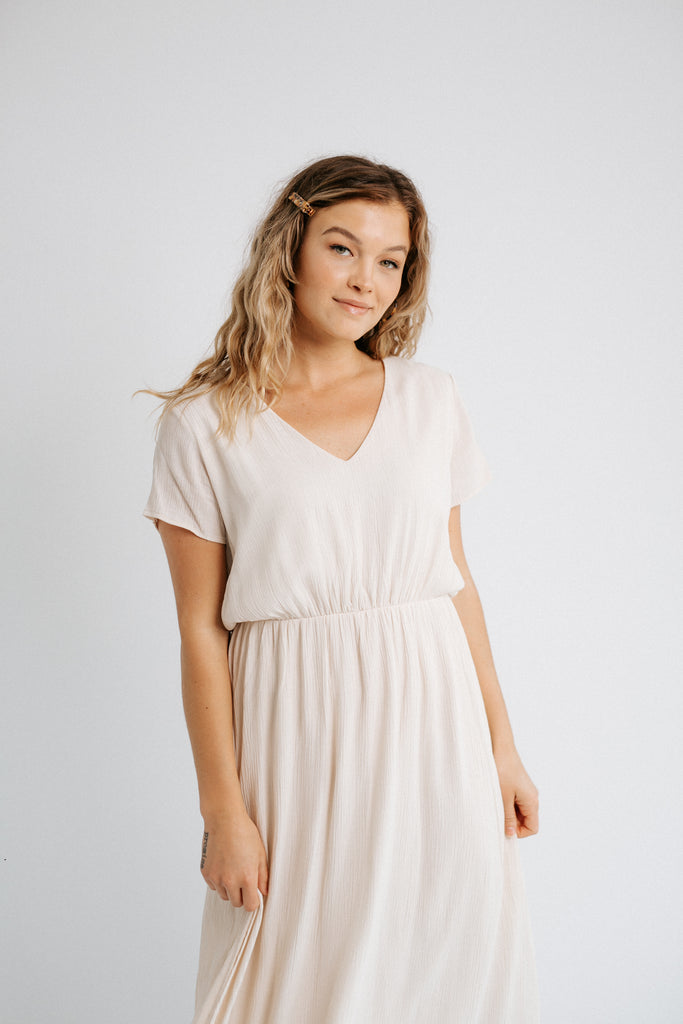 millie v neck dress