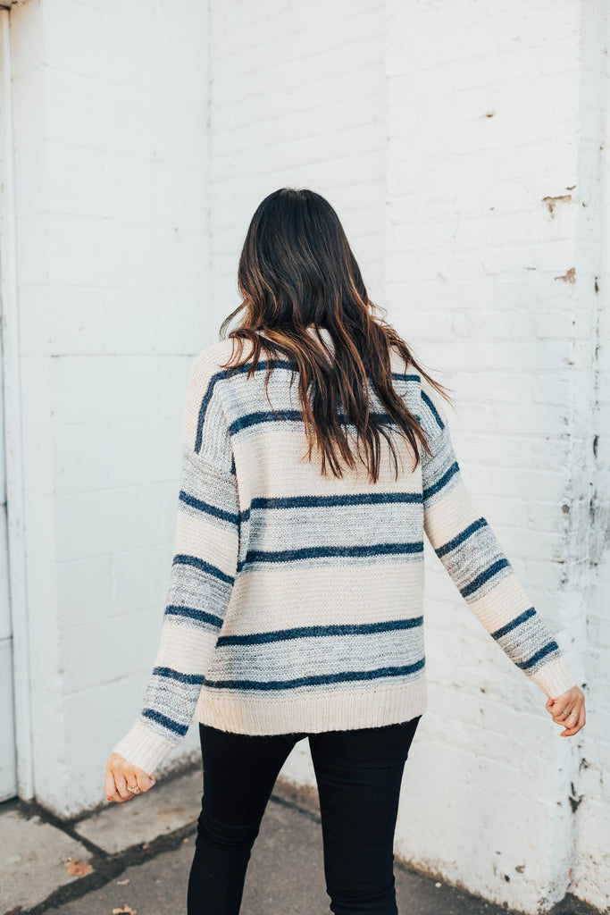 mum striped sweater