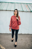 betsy puff sleeve sweater