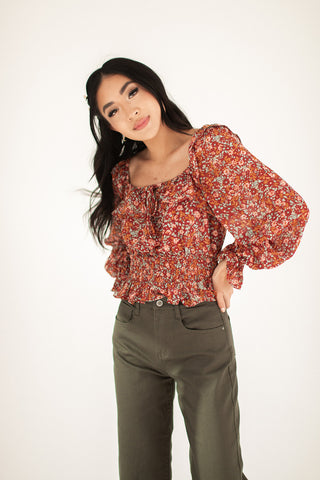 spell on you velvet wrap top