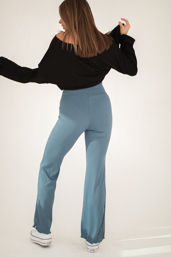 bella pant // blue