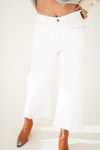 coco cropped denim