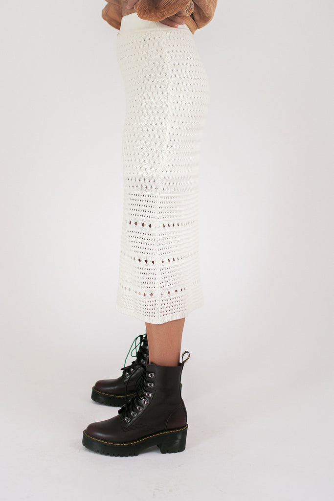 scout crochet skirt