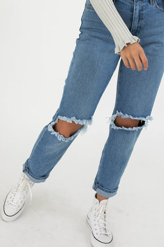 hal denim // light wash