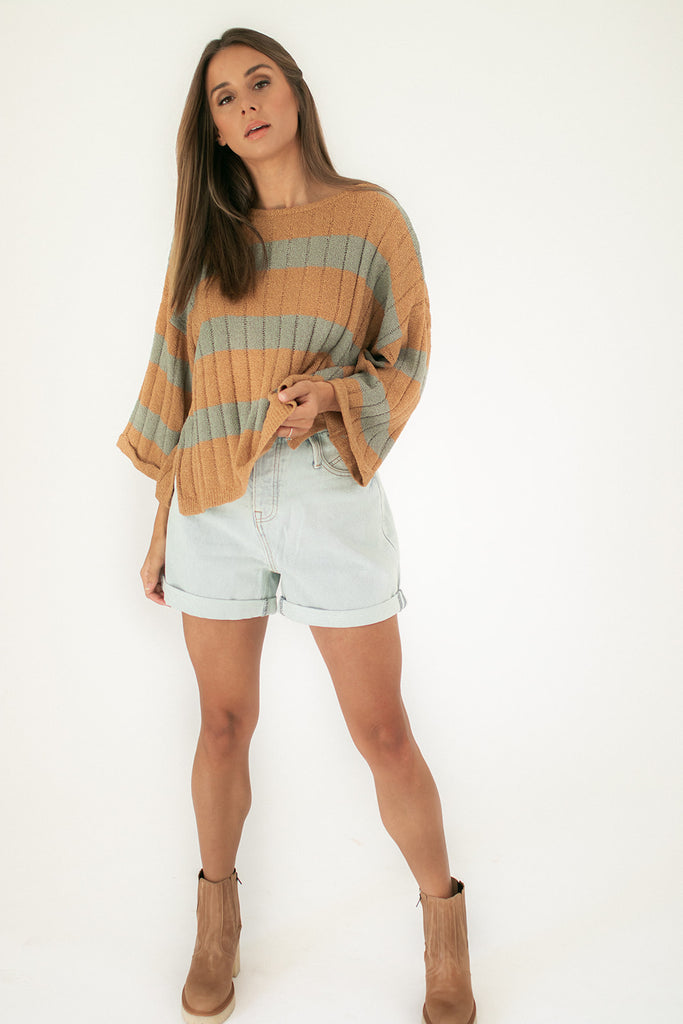 rumors striped top