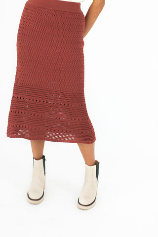 polly crochet sweater