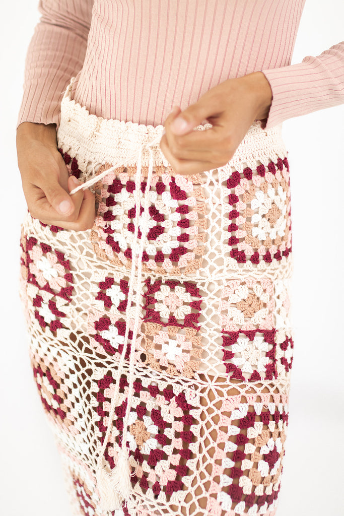 fairway crochet skirt