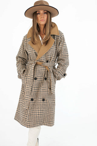lani plaid jacket